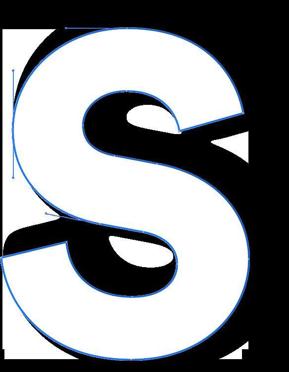 A big S