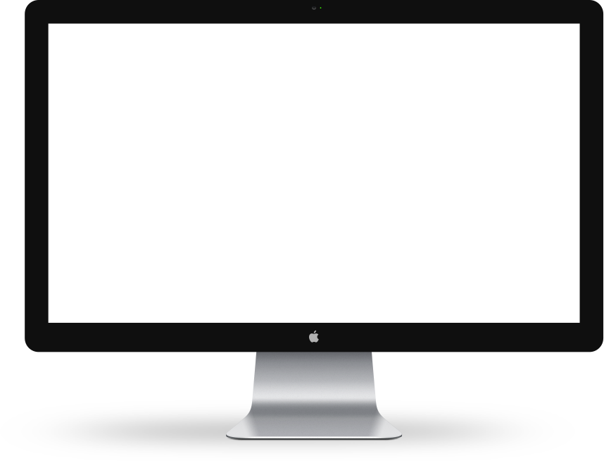 Cinema Display Transparent