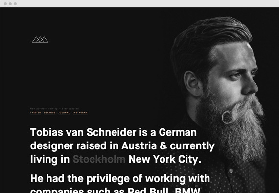 Featured Folio Tobias van Schneider