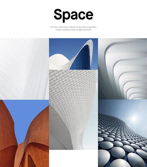 Semplice Design Example Blocks