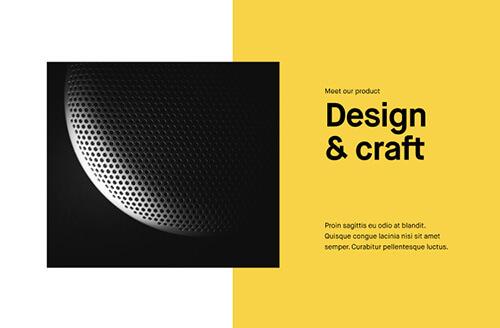Semplice Blocks Example Design and Craft
